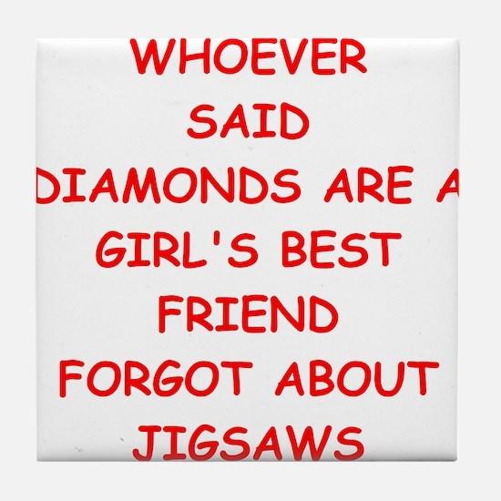 JIGSAW Tile Coaster