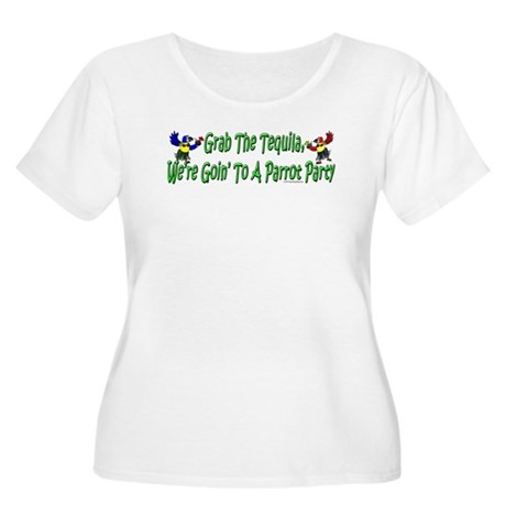 Grab The Tequila Women's Plus Size Scoop Neck T-Sh