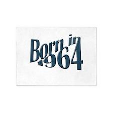 Born in 1964 5'x7'Area Rug