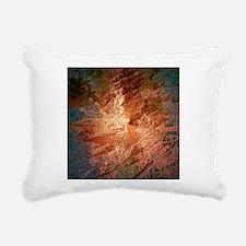 creamy colors bronze Rectangular Canvas Pillow