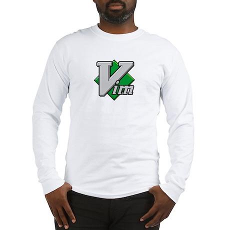 vim logo notransp2 Long Sleeve T-Shirt