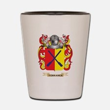 Torrance Family Crest (Coat of Arms) Shot Glass
