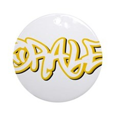 Orale Male Ornament (Round)