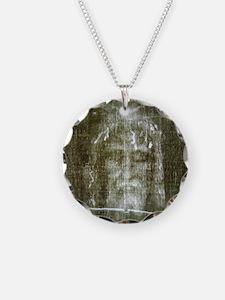 shroud Necklace Circle Charm
