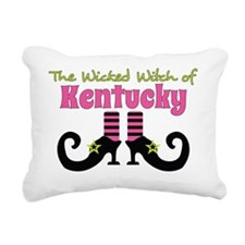 Wicked Witch of Kentucky Rectangular Canvas Pillow