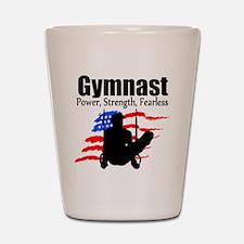 CHAMPION GYMNAST Shot Glass