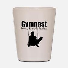 POWER GYMNAST Shot Glass
