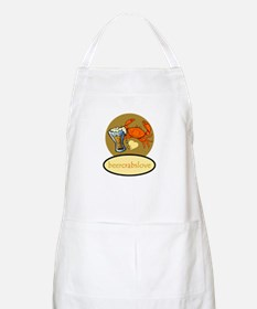 Beer & Crabs BBQ Apron