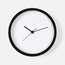 FEARLESS GYMNAST Wall Clock