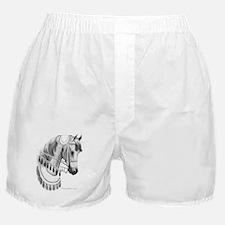 Arabian Horse in Costume Boxer Shorts