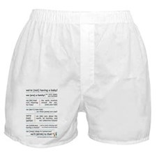 w{n}hab! manifesto Boxer Shorts