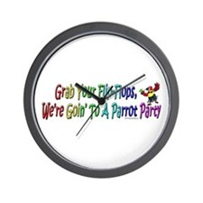 Grab Your Flip-Flops Wall Clock