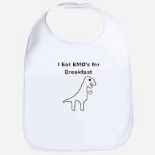 I Eat Emo's for Breakfast Bib