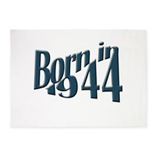 Born in 1944 5'x7'Area Rug