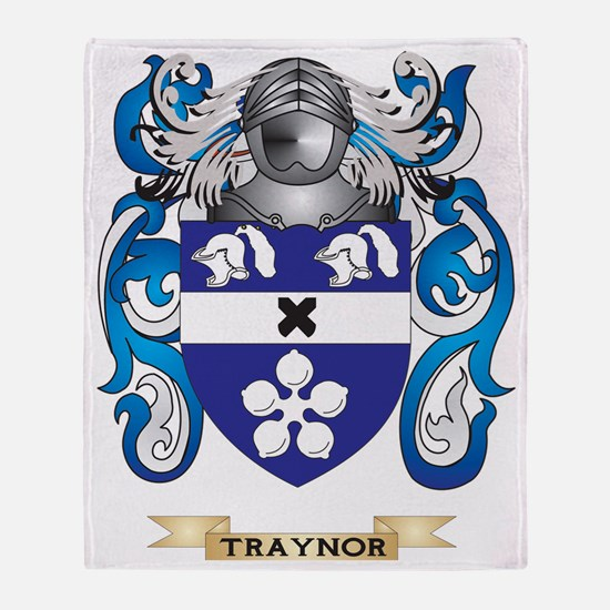 Traynor Family Crest (Coat of Arms) Throw Blanket