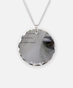 The softness of a horses eye Necklace