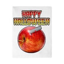 Happy Halloween Razor Blade Apple Twin Duvet