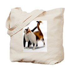 Kitty Cat Friends Tote Bag