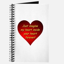 My Heart Inside Your Heart Journal