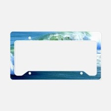 Catch the Wave License Plate Holder