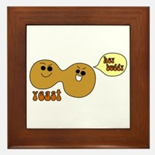 Yeast Buddies Framed Tile