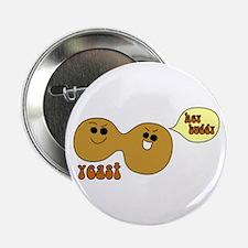 Yeast Buddies Button