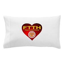 FTTH Heart Mississippi Pillow Case
