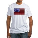 American Liberal Fitted T-Shirt