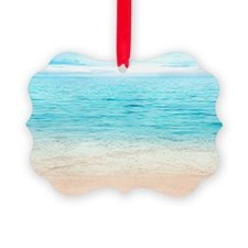 Beautiful Beach Ornament