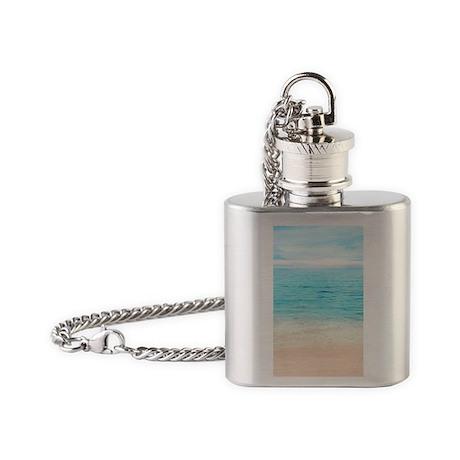 Beautiful Beach Flask Necklace