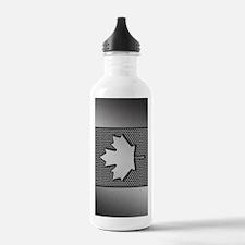 Canadian Flag Brushed  Water Bottle
