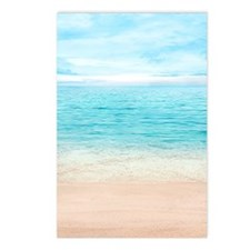 Beautiful Beach Postcards (Package of 8)