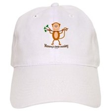 Mommy's Little Monkey Baseball Cap