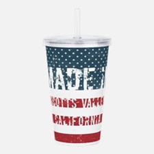 Made in Scotts Valley, Acrylic Double-wall Tumbler