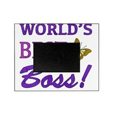 Worlds Best Boss (Butterfly) Picture Frame