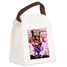 Pop tiger Canvas Lunch Bag