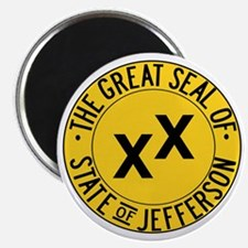 State of Jefferson Seal Magnet