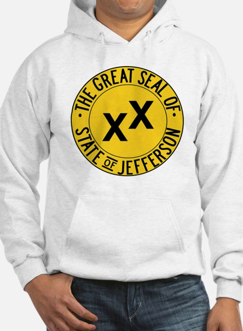 State of Jefferson Seal Hoodie