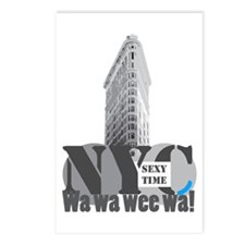 sexy time NYC Flatiron Postcards (Package of 8)