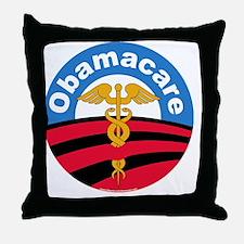 Obamacare Night Throw Pillow