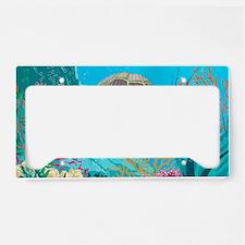 Cute Sea Turtles License Plate Holder