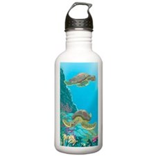 Cute Sea Turtles Water Bottle