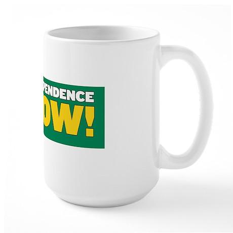 Independence Now Large Mug