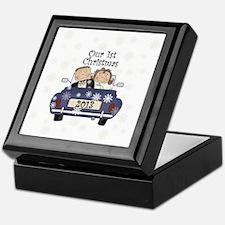 Just Married 1st Christmas 2013 Keepsake Box