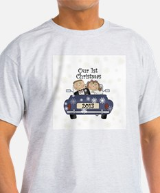 Just Married 1st Christmas 2013 T-Shirt