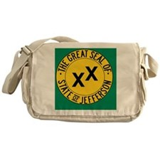 Jefferson Flag Messenger Bag