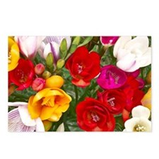 Beautiful Flowers Postcards (Package of 8)