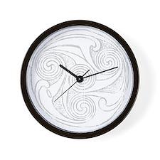 Celtic Interlace Dark Wall Clock