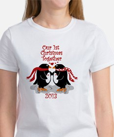 Penguins 1st Christmas Together Tee