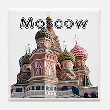 Moscow_12X12_v4_Black Tile Coaster